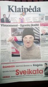 """""""Klaipėdos"""" laikraštis gąsdina visuomenę psichiniais ligoniais. Ar pagrįstai?"""