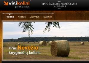 už www.visikeliai.com  Mato Šalčiaus premija skirta Kristinai Stalnionytei