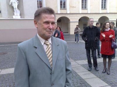 """""""Lietuvos žinių"""" vyr. redaktorius V.Vasiliauskas"""