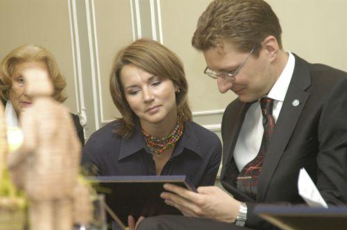 G. Sviderskytė 2009 metais įvertinta garbingiausiu žurnalistų apdovanojimu - Vinco Kudirkos vardo premija