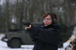 R.Juknevičienė ginkluota ir pavojinga (KAM nuotrauka)