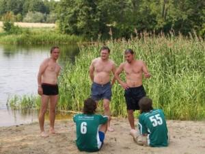 Latvijos žurnalistus atgaivino tik vanduo. 2007 metais Marijampolė
