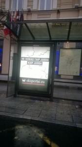 ekspertaieu reklama gatveje