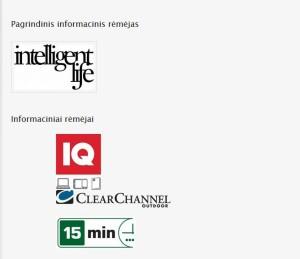 informacinis rėmėjas