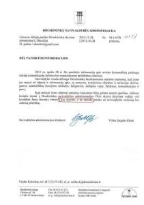 Druskininku valdzios rastas del spaudos ignoravimo 2013