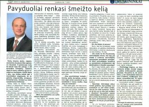 Druskininku meras Ricardas Malinauskas apie pavyduokius ir jo kritika