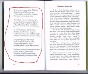 eilėraštis Malinauskui