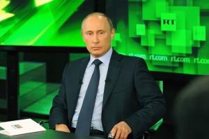 Putinas RT studijoje